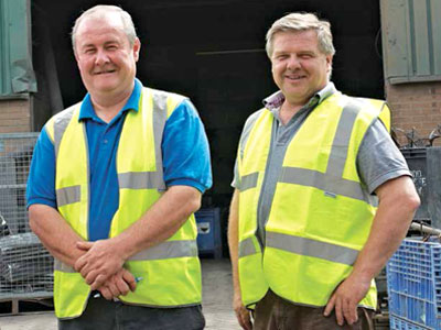 Steve Lewis and Martin Serrell of EWMS Ltd