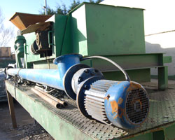 Waste magnetic separator
